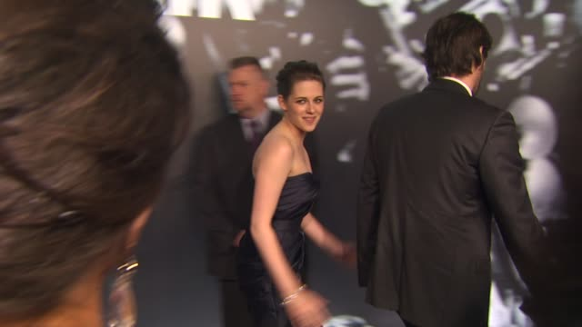 kristen stewart at the 2010 vanity fair oscar party hosted by graydon carter at west hollywood ca - graydon carter stock videos and b-roll footage