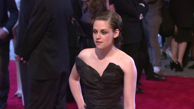 kristen stewart at the 'american woman fashioning a national identity' met gala arrivals at new york ny - kristen stewart stock videos and b-roll footage