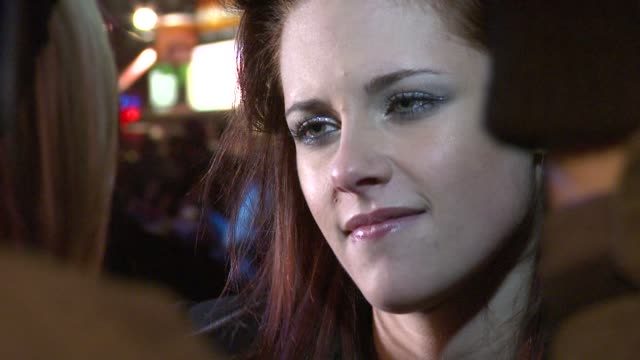 kristen stewart at the twilight london premiere at london . - twilight stock videos & royalty-free footage