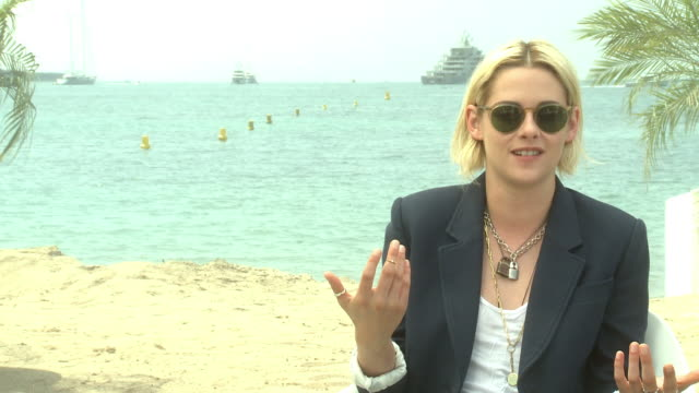 INTERVIEW Kristen Stewart on poking fun at celebrity culture and distractions that aren't important at 'Personal Shopper' Interview at Majestic Beach...