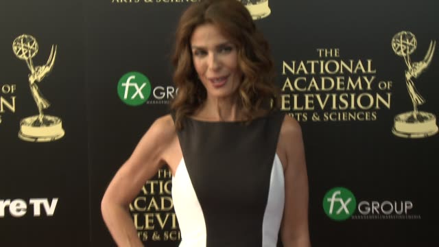 kristian alfonso at the 2014 daytime emmy awards at the beverly hilton hotel on june 22 2014 in beverly hills california - annual daytime emmy awards stock videos & royalty-free footage