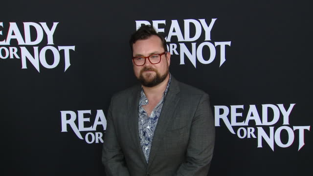"""kristian bruun at the """"ready or not"""" los angeles special screening presented by fox searchlight pictures in los angeles ca - fox searchlight pictures stock videos & royalty-free footage"""
