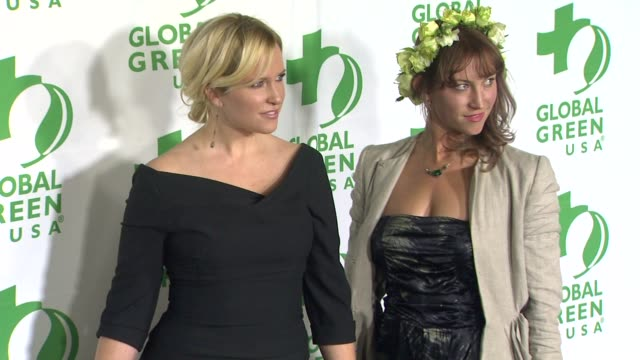 vídeos de stock e filmes b-roll de kristin banta bess wyrick at global green usa's 10th annual preoscar party on 2/20/13 in los angeles ca - festa do óscar