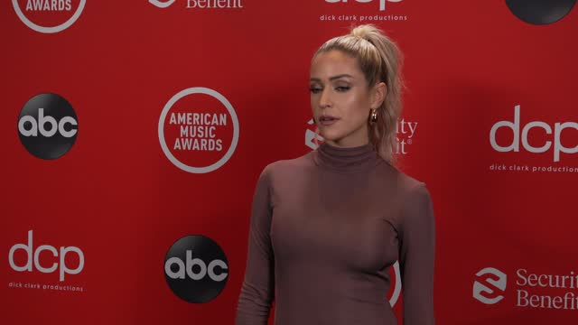 kristin cavallari at the 2020 american music awards at the microsoft theater on november 22, 2020 in los angeles, california. - microsoft theater los angeles stock videos & royalty-free footage