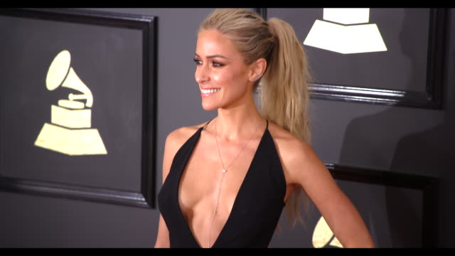 Kristin Cavallari at the 59th Annual Grammy Awards Arrivals at Staples Center on February 12 2017 in Los Angeles California 4K
