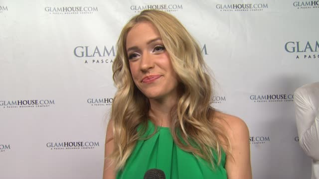 kristin cavallari on tonight's event on what she would like her jewelry line to look like on what she likes about nicole richie's house of harlow on... - nicole richie stock videos & royalty-free footage