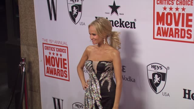 Kristin Chenoweth at the 15th Annual Critics' Choice Movie Awards AfterParty at Hollywood CA