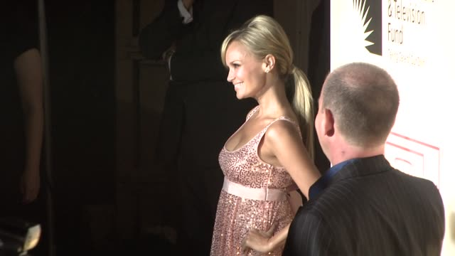 kristin chenoweth at the 'a fine romance' to benefit the motion picture television fund at los angeles ca - motion picture & television fund stock videos & royalty-free footage