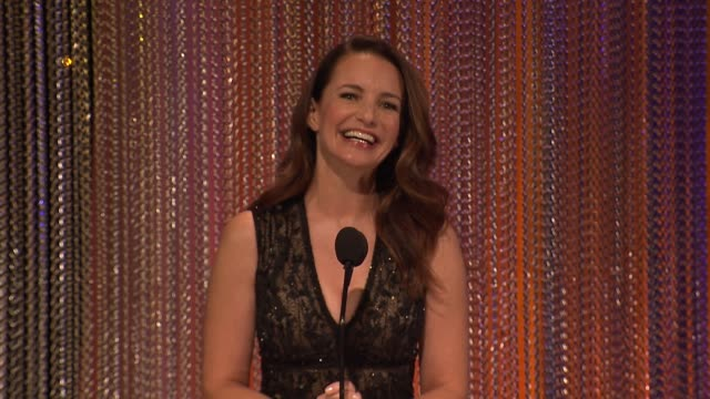 SPEECH Kristin Davis at 2017 Princess Grace Awards Gala With Presenting Sponsor Christian Dior Couture at The Beverly Hilton Hotel on October 25 2017...