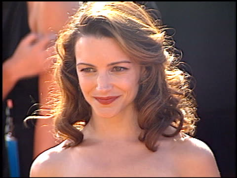 kristin davis at the 2000 emmy awards at the shrine auditorium in los angeles california on september 10 2000 - kristin davis stock videos and b-roll footage