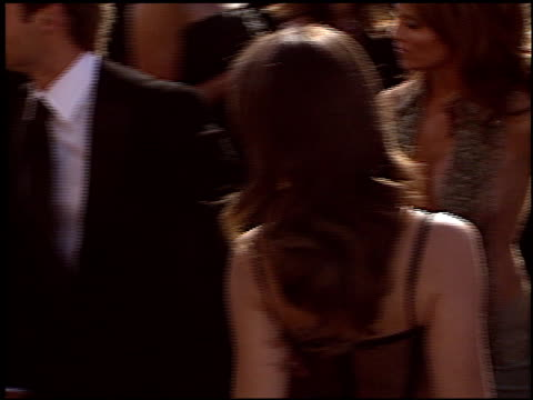 kristin davis at the 2004 emmy awards arrival at the shrine auditorium in los angeles california on september 19 2004 - kristin davis stock videos and b-roll footage