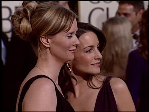 Kristin Davis at the 2005 Golden Globe Awards at the Beverly Hilton in Beverly Hills California on January 16 2005