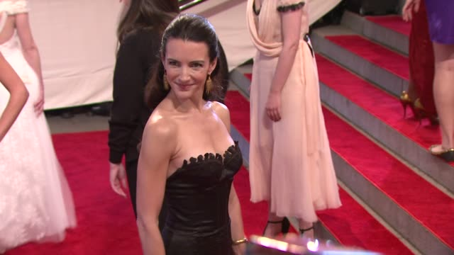Kristin Davis at the 'American Woman Fashioning A National Identity' Met Gala Arrivals at New York NY