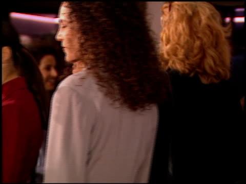 kristin davis at the 'diabolique' premiere on march 20 1996 - kristin davis stock videos and b-roll footage