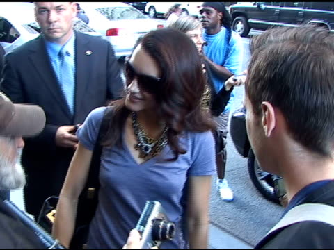 kristin davis at the mandarin oriental hotel in new york at the celebrity sightings in new york at new york ny - kristin davis stock videos and b-roll footage