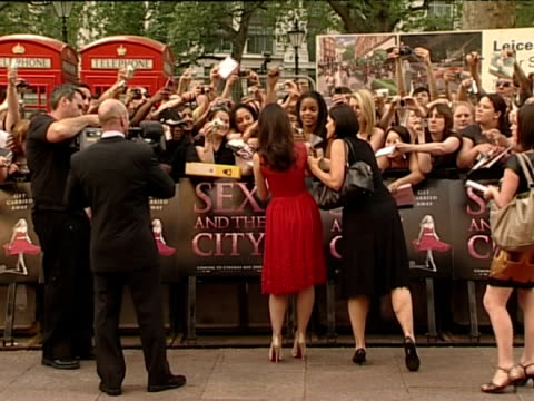 Kristin Davis at the 'Sex and the City The Movie' Premiere on May 12 2008