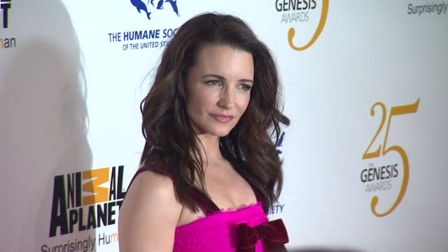 Kristin Davis at the The 25th Anniversary Genesis Awards Presented By The Humane Society Of The United States at Century City CA