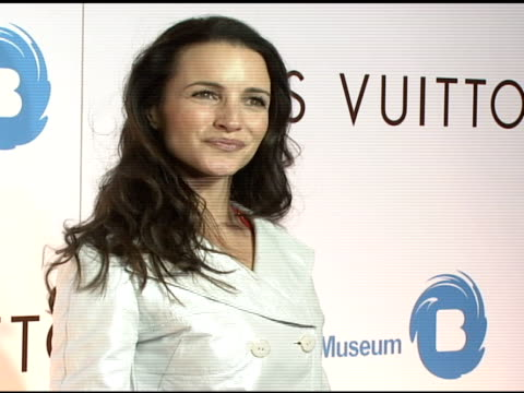 kristin davis at the the brooklyn museum and louis vuitton honor japanese artist takashi murakami at the brooklyn museum of art in brooklyn new york... - kristin davis stock videos and b-roll footage