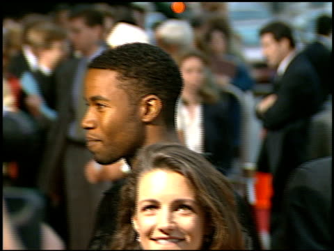 kristin davis at the 'trial and error' premiere at academy theater in beverly hills california on may 21 1997 - kristin davis stock videos and b-roll footage
