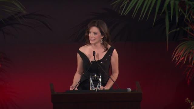 SPEECH Kristin Davis Michael Patrick King at 25th Annual Environmental Media Awards in Los Angeles CA