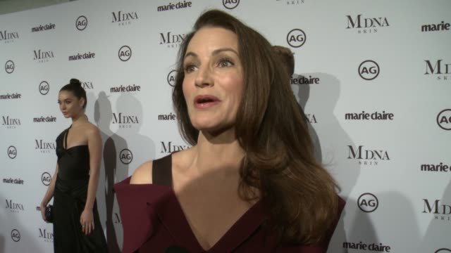 INTERVIEW Kristin Davis on presenting on behalf of Sarah Jessica Parker why its important to support these creative artists who influences her...