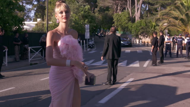 SLOMO Kristina Romanova at amfAR Gala Cannes 2018 at Hotel du CapEdenRoc on May 17 2018 in Cap d'Antibes France