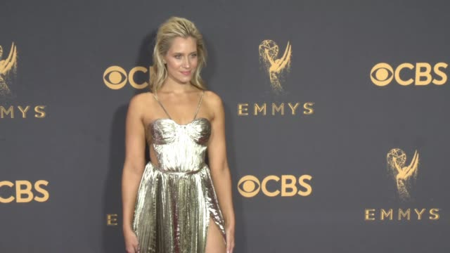 Kristine Leahy at the 69th Annual Primetime Emmy Awards at Microsoft Theater on September 17 2017 in Los Angeles California