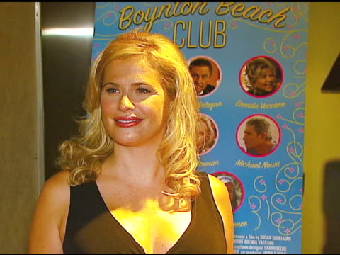 kristy swanson at the 'boynton beach club' los angeles premiere at silver screen theater @ the pacific design center in west hollywood california on... - pacific design center stock videos and b-roll footage