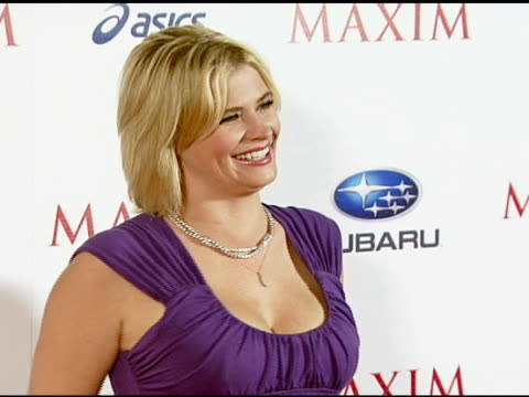 Kristy Swanson at the Maxim Magazine's ICU Event at Area in Los Angeles California on August 2 2007