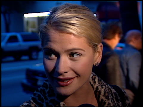 kristy swanson at the 'rated x' premiere at academy theater in beverly hills california on april 28 2000 - x rated stock videos & royalty-free footage