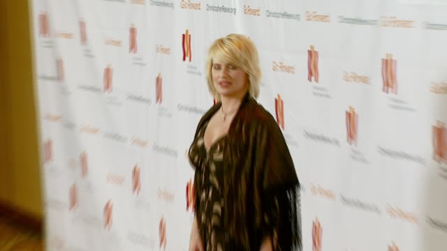 kristy swanson at the third annual los angeles gala for the christopher and dana reeve foundation honoring robin williams at the century plaza hotel... - christopher and dana reeve foundation stock videos and b-roll footage