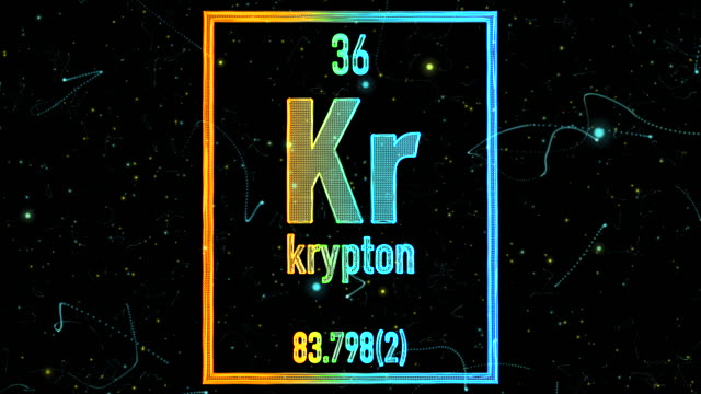 Krypton Element Videos And B Roll Footage Getty Images