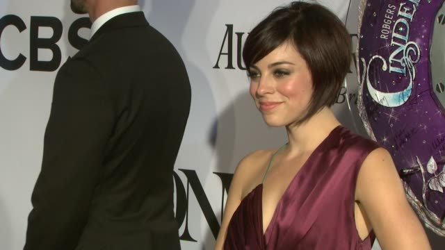 Krysta Rodriguez at The 67th Annual Tony Awards Arrivals at Radio City Music Hall on June 09 2013 in New York New York