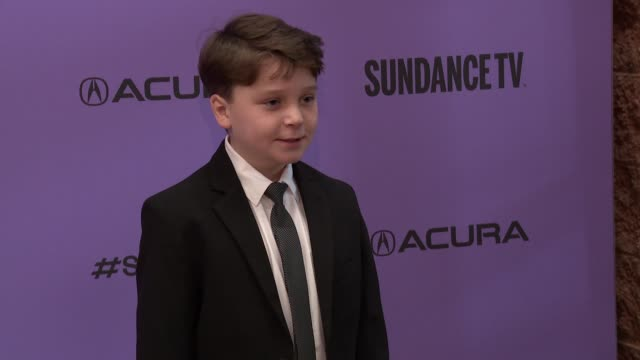 "krzysztof meyn at the ""wendy"" sundance premiere presented by searchlight pictures sundance film festival at eccles center theatre on january 26 2020... - sundance film festival stock videos & royalty-free footage"