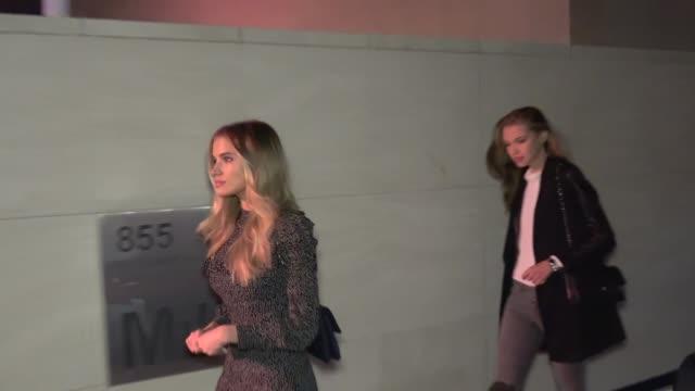 Ksenia Komleva attends the Issey Miyake Fragrance Launch at Milk Studios in Los Angeles in Celebrity Sightings in Los Angeles