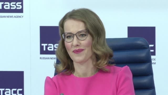 Ksenia Sobchak surprised Russians in October by declaring herself a candidate in the vote with the slogans against them all and none of the above