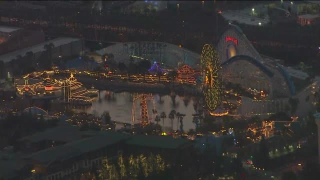 Aerial View of Disney California Adventure