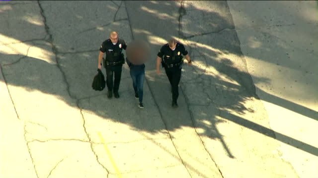 aerial view of sal castro middle school shooting 12yearold girl in custody after 2 students shot in classroom - junior high stock videos & royalty-free footage