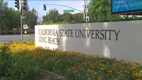 california state university, long beach campus. - long beach california video stock e b–roll