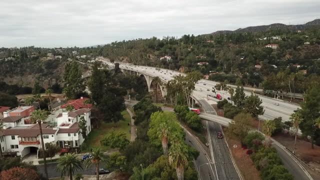 Drone POV Colorado Street Bridge