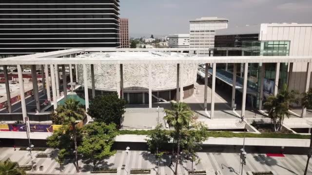 Drone POV Downtown Los Angeles