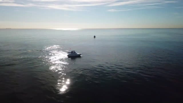 drone the sunken city - 沈没する点の映像素材/bロール