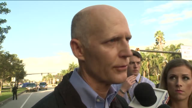 Interview with Florida Governor Rick Scott Talking About Marjory Stoneman Douglas High School Shooting