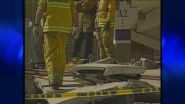 northridge earthquake damage. - northridge stock videos & royalty-free footage