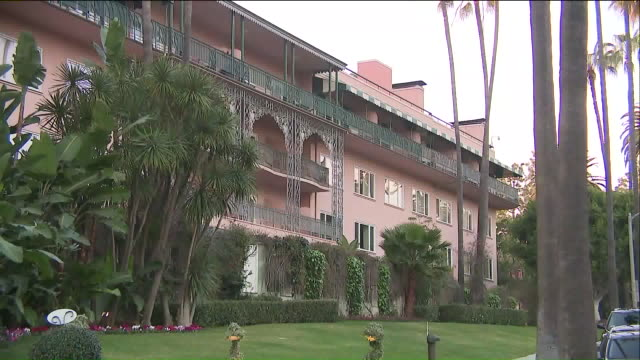 the beverly hills hotel - beverly hills hotel stock videos and b-roll footage