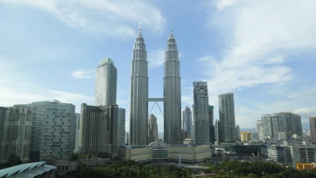 WS TL Kuala Lumpur cityscape timelapse