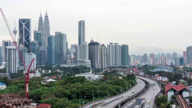 クアラルンプール,Malaysia 街のスカイライン。