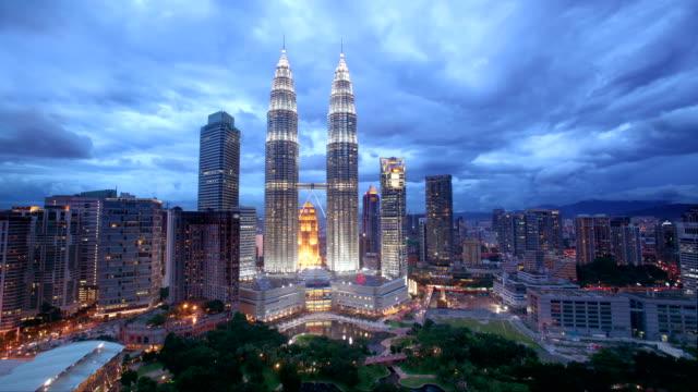 Kuala Lumpur Skyline Dusk