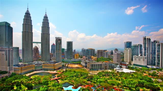 Kuala Lumpur Skyline Panorama.