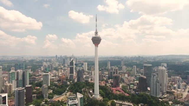Kuala Lumpur skyline with KL tower